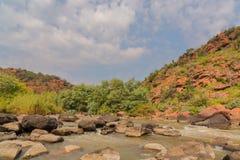Ezemvelo的NR Wilge河 库存图片