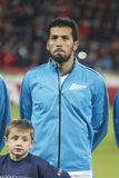 Ezequiel Garay Bayer 04 Leverkusen v Zénith Saint-Pétersbourg Champion League Stock Image