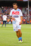 Ezequiel Lavezzi of SSC Napoli Stock Images
