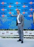 Ezio Greggio al Giffoni Film Festival 2011 Immagini Stock