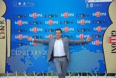 Ezio Greggio al Giffoni Film Festival 2011 Fotografie Stock