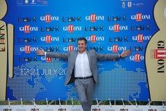 Ezio Greggio al Giffoni Film Festival 2011 Immagini Stock Libere da Diritti