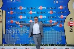 Ezio Greggio al Giffoni Film Festival 2011 Fotografia Stock