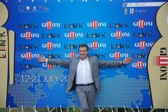 Ezio Greggio al Giffoni Film Festival 2011 Fotografie Stock Libere da Diritti