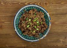 Azerbaijani dish Ezma Stock Photo