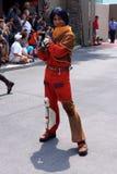 Ezra Bridger od Star Wars Buntuje się przy Star Wars Nas Zdjęcia Stock