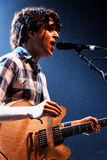 Ezra Koenig, front man of Vampire Weekend, performs at Discotheque Razzmatazz Stock Images