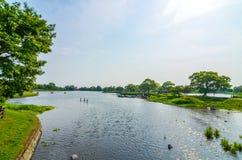 Ezu lake in Kumamoto, Japan Stock Image