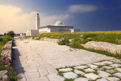 Ezzitouna Mosque. View of the Great Mosque of Ezzitouna in Carthage, Tunisia Stock Photography