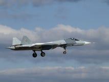 FÁ T-50 de Sukhoi PAK Fotografia de Stock