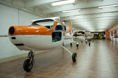 Fábrica 1 dos aviões Foto de Stock Royalty Free
