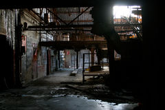 Fábrica abandonada 3 Fotografía de archivo libre de regalías