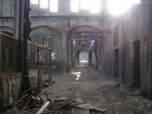 Fábrica abandonada Imagens de Stock Royalty Free