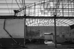Fábrica abandonada Imagem de Stock