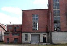 Fábrica abandonada Imagens de Stock