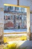 Fábrica abandonada Fotografia de Stock Royalty Free