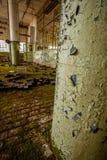 Fábrica abandonada Foto de archivo libre de regalías