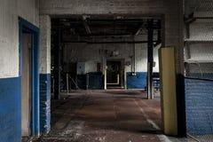Fábrica abandonada - Balsa Tampão & Parafuso Empresa - Cleveland, Ohio foto de stock royalty free