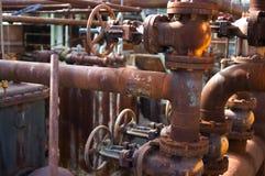 Fábrica abandonada detalhe Imagens de Stock Royalty Free