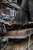Fábrica abandonada do laço - Scranton, Pensilvânia imagens de stock royalty free