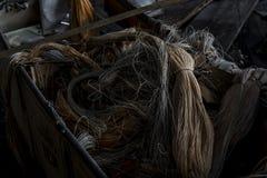 Fábrica abandonada do laço - Scranton, Pensilvânia foto de stock royalty free