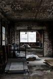 Fábrica abandonada do laço - Scranton, Pensilvânia imagens de stock