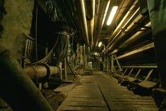 Fábrica abandonada velha Imagem de Stock Royalty Free
