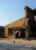Fábrica abandonada velha Fotografia de Stock