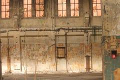 fábrica abandonada vieja Fotos de archivo libres de regalías