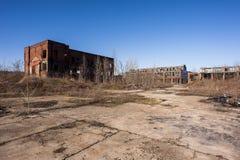Fábrica abandonada - Youngstown, Ohio foto de archivo