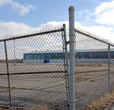 Fábrica americana cerrada Imagen de archivo libre de regalías