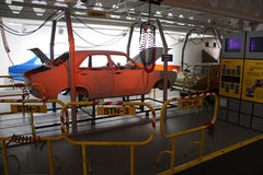 Fábrica antigua del coche Foto de archivo