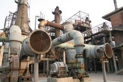 Fábrica Beijing China da zona de 798 artes Foto de Stock