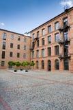 Fábrica blanca en Lodz fotografía de archivo