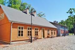 Fábrica blanca, museo central de materias textiles, Lodz, Po Imagen de archivo libre de regalías