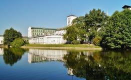Fábrica blanca, museo central de materias textiles, Lodz, Polonia Foto de archivo libre de regalías