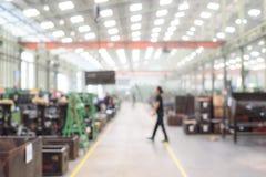 Fábrica borrada ou defocused da fabricação Imagens de Stock