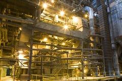 Fábrica da central eléctrica imagem de stock royalty free