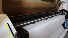 Fábrica da costura plotador video estoque