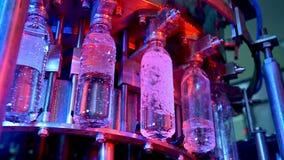 Fábrica da garrafa de água vídeos de arquivo