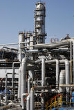 Fábrica da refinaria foto de stock