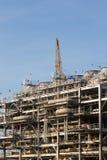 Fábrica da refinaria do gás natural líquido Fotos de Stock Royalty Free