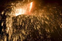 Fábrica de aço Imagens de Stock Royalty Free