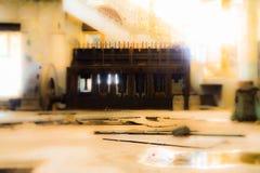 Fábrica de Abonded Foto de Stock