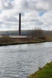 Fábrica de algodón de Burnley Imagenes de archivo