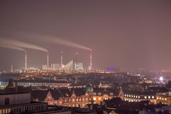 Fábrica de Copenhaga Imagens de Stock Royalty Free