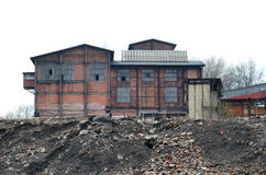 Fábrica de coque, Polonia Imagenes de archivo