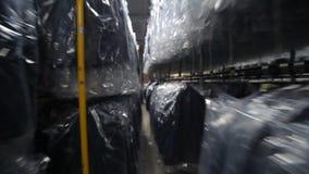 Fábrica de costura Industria de la confección Costura de la ropa externa metrajes
