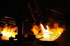 Fábrica de cristal bohemia en Svetla nad Sazavou, República Checa Fotos de archivo libres de regalías