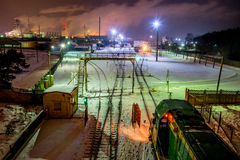 Fábrica de Jonava Achema Fotografia de Stock